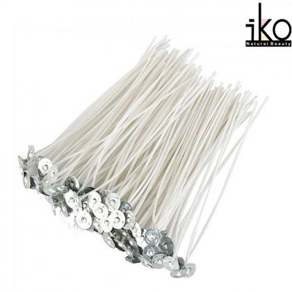 Cotton Candle Wick / Candlewick 100% Cotton 15cm - 10pcs
