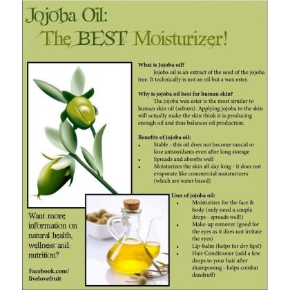 Pure Virgin Jojoba Oil Golden - 10ml, 30ml, 50ml, 100ml