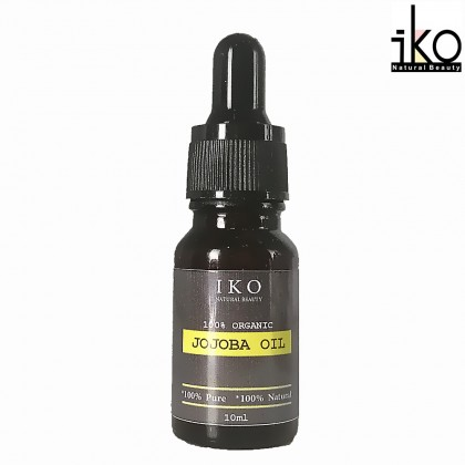 Pure Organic Virgin Jojoba Oil Golden - 10ml, 30ml, 50ml, 100ml