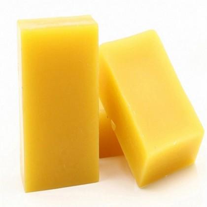 Natural Yellow Beeswax Bar Food Grade - 50g